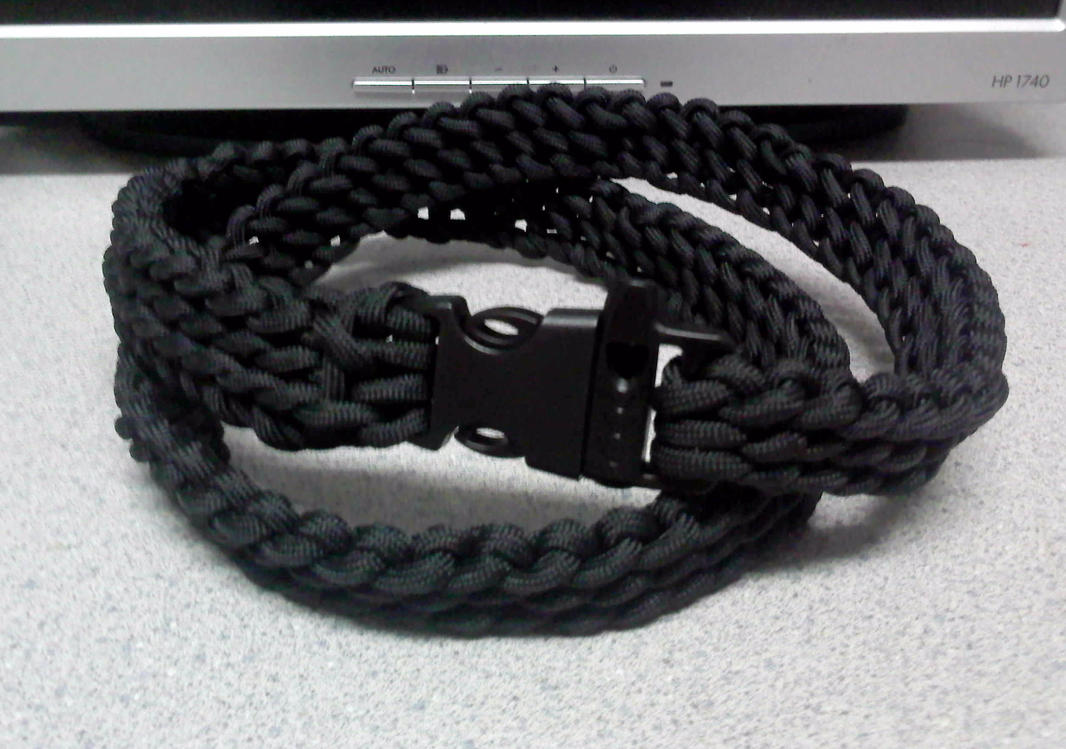 Paracord belt by theorigamiarchitect on deviantart for Paracord wallpaper