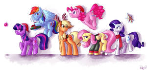 Pony Kind Of Christmas by RubyW32