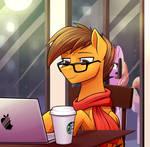[COMM] Night in Starbucks