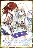 Toaru Majutsu no Index and Railgun Fan Page card by yanisag7