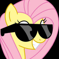 Fluttershy Glasses by Varcon