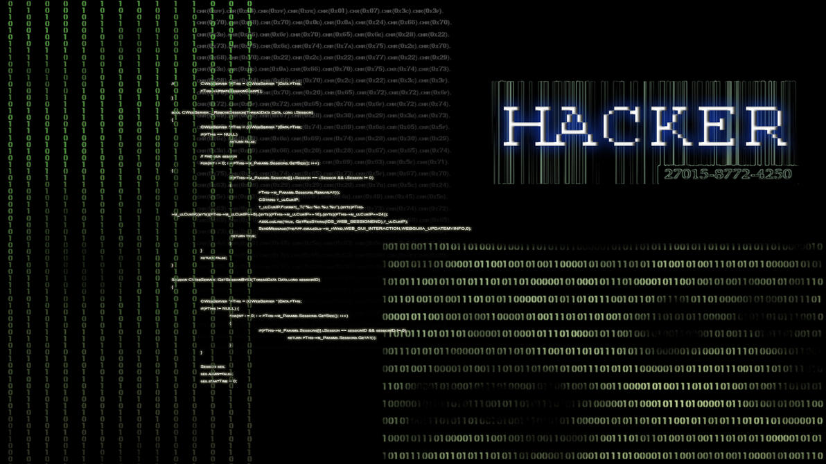 Hacker Wallpaper by Vanilla23