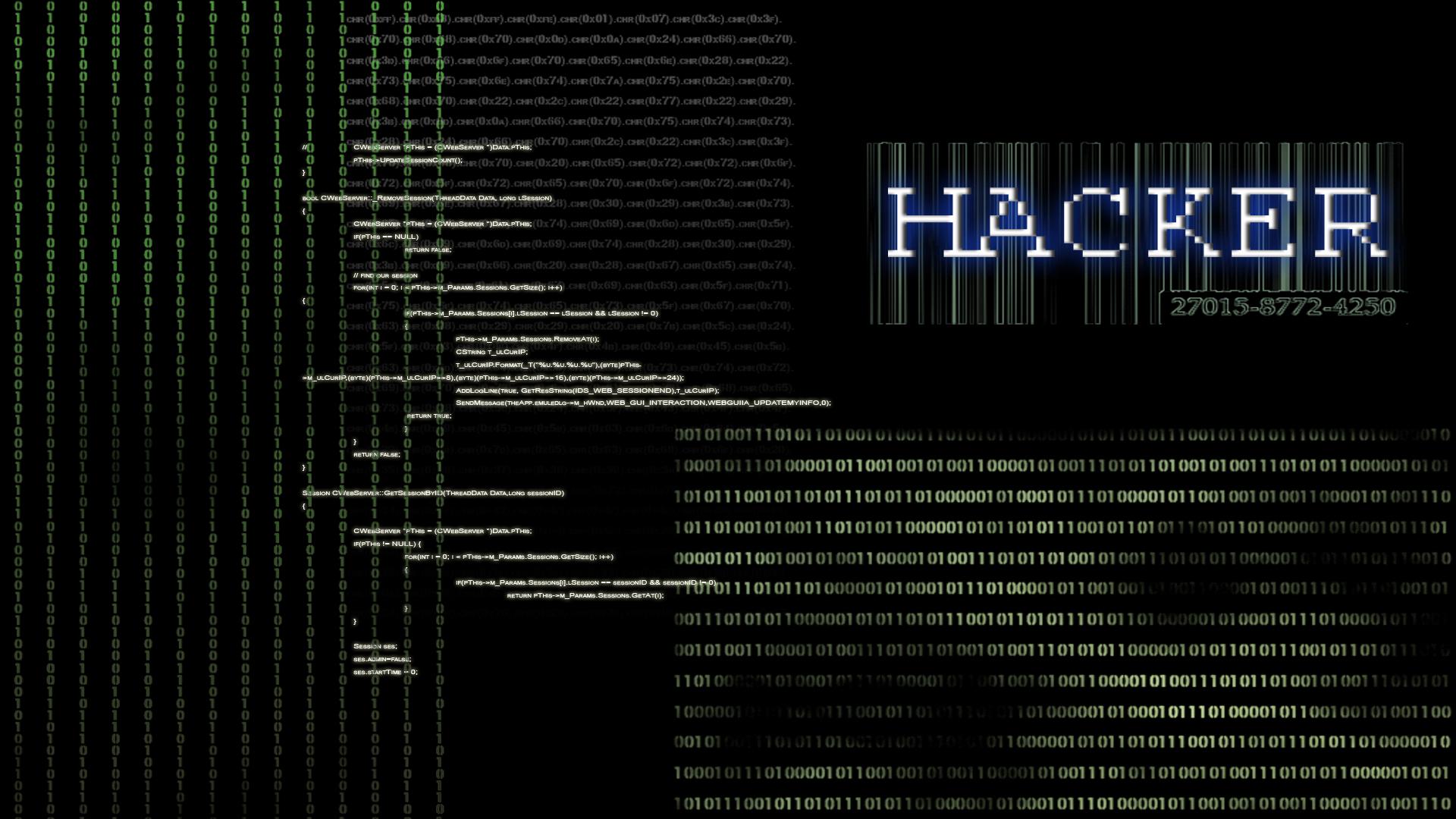 Hacker Wallpaper by Vanilla23