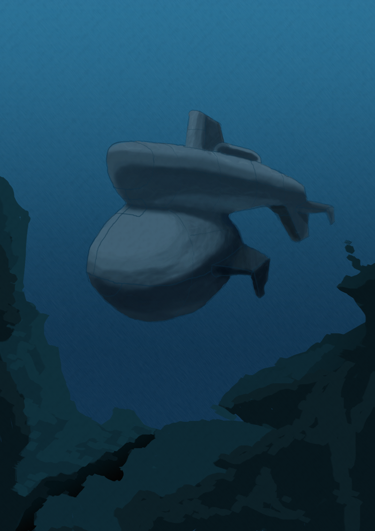 Submarine by ishee