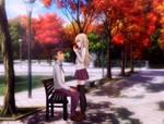 [Haikyuu!! OC] Crimson Passion by Jixelioz
