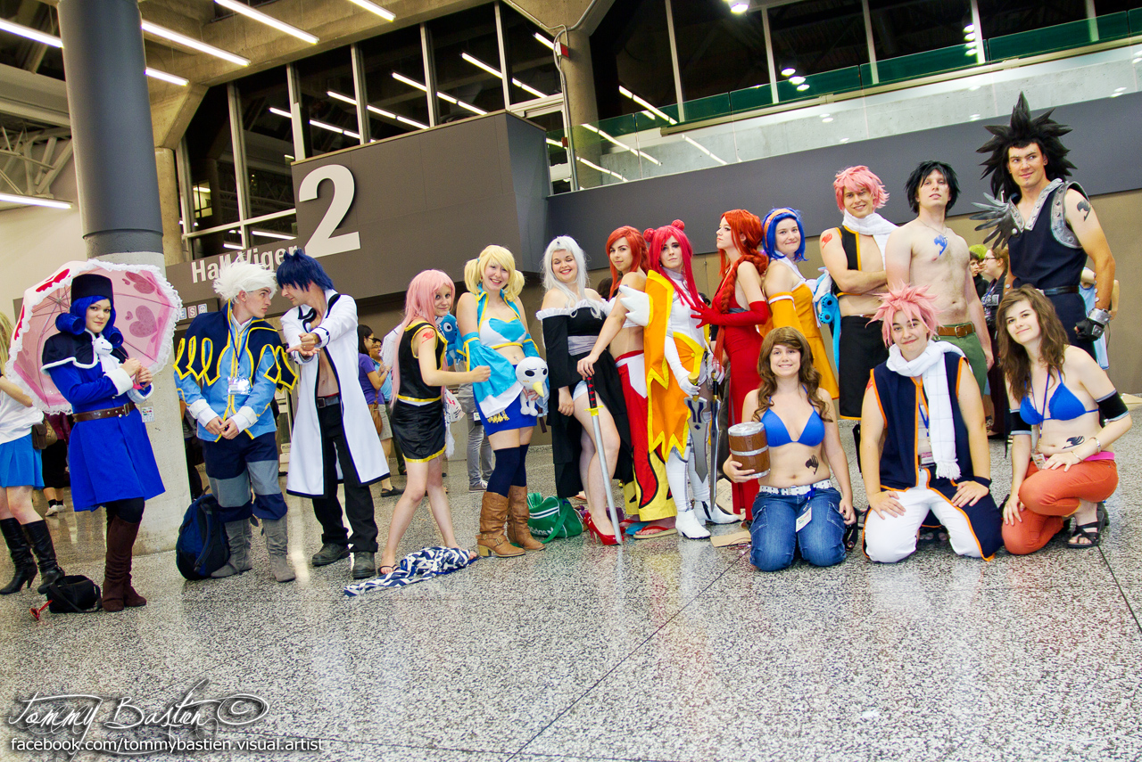 Cast Of Fairy Tail By TommyBastien
