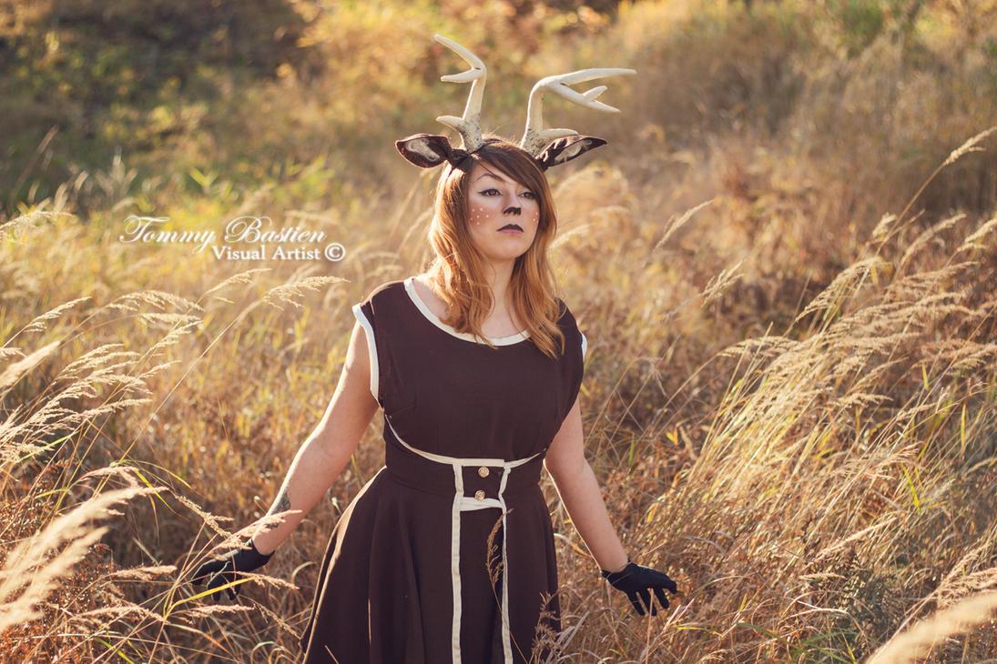 -Deer Spirit- Gracious by TommyBastien