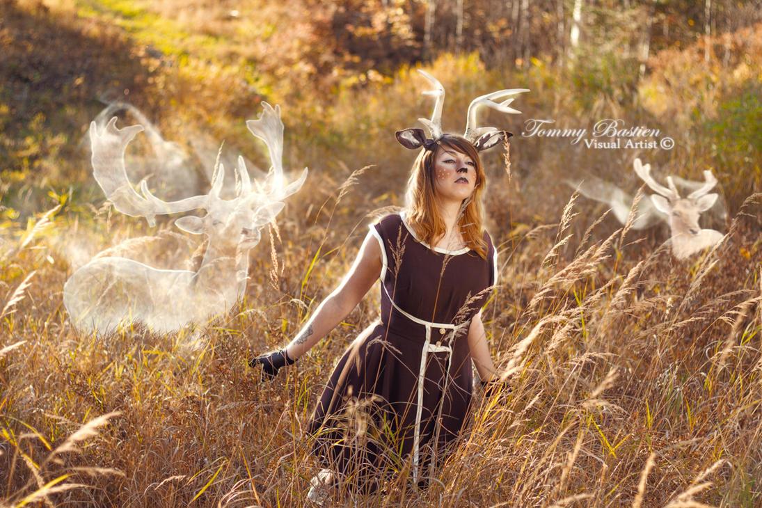 -Deer Spirit- The Gathering by TommyBastien