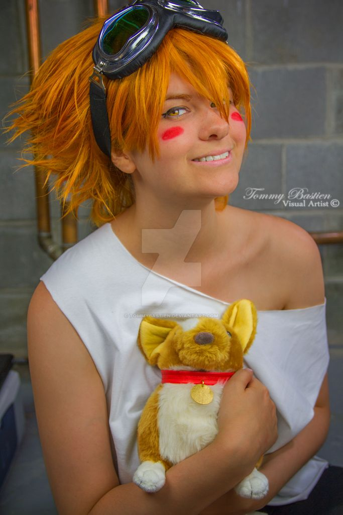 Ed and Plush Ein II by TommyBastien