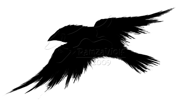 Crow logo by ramzawolf on deviantart crow logo by ramzawolf sciox Choice Image