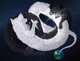 Catnarok : Longcat vs Tacgnol by RamzaWolf