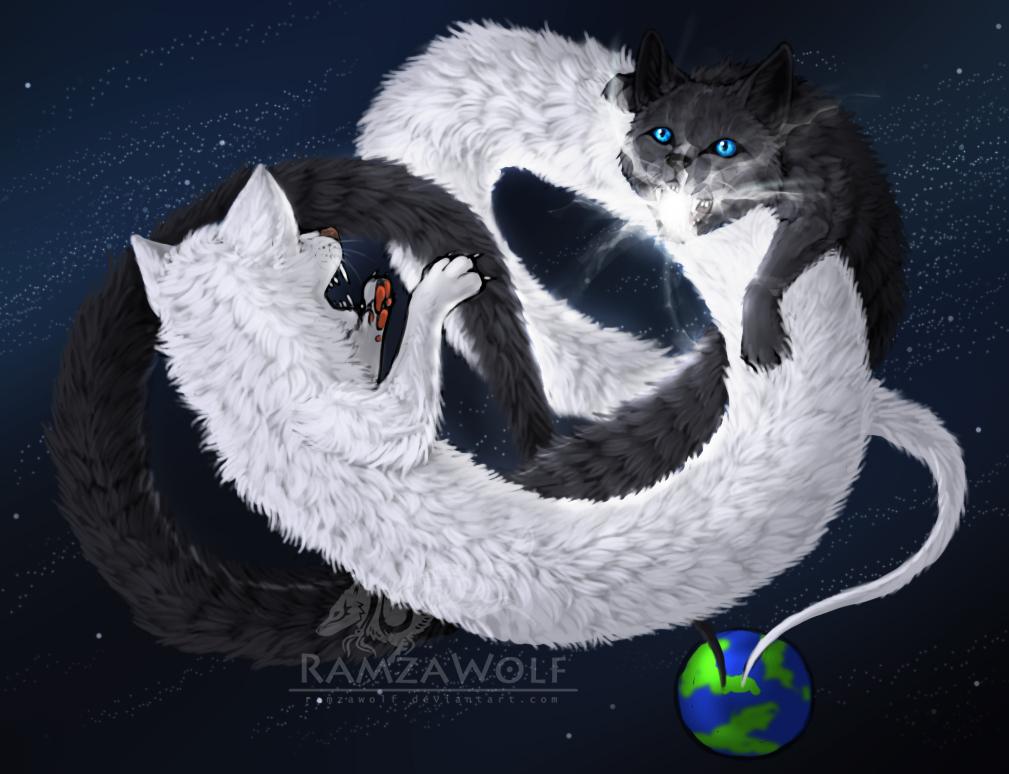 [Imagen: Catnarok___Longcat_vs_Tacgnol_by_RamzaWolf.jpg]