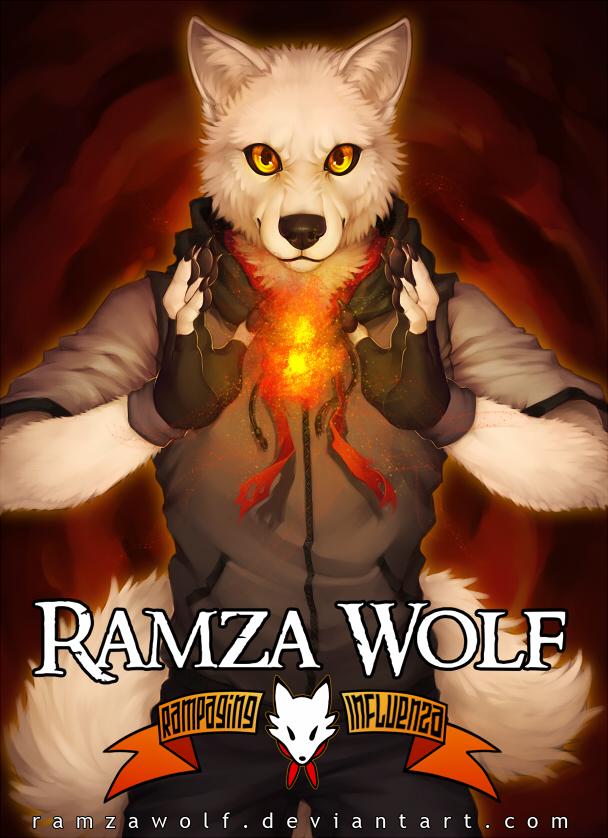 RamzaWolf Conbadge by RamzaWolf