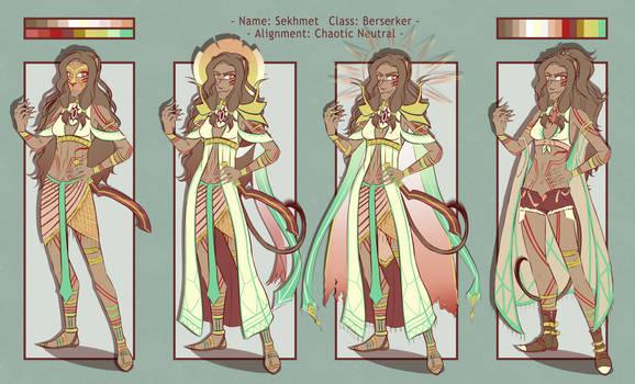 [Fate OC REF] Sekhmet