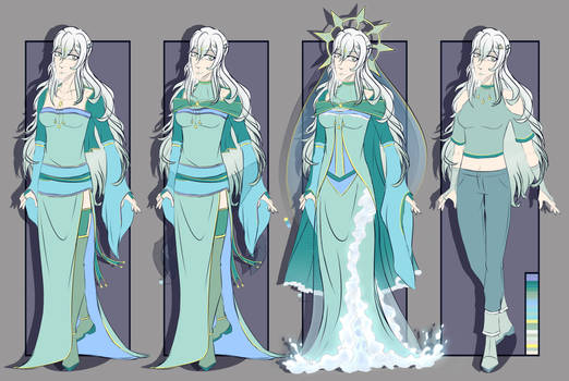 [RE:Fate OC REF] Lady of the Lake
