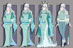[RE:Fate OC REF] Lady of the Lake by Jackross-V