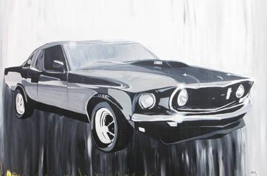 69' ford mustang by Bella-Bones