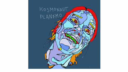 Kosmonaut Planemo is happy. by KOSMONAUTPLANEMO