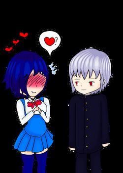[COLLAB] Do you love me, Reta-Senpai?