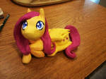 fluttershy finished sculpture by holyhell111