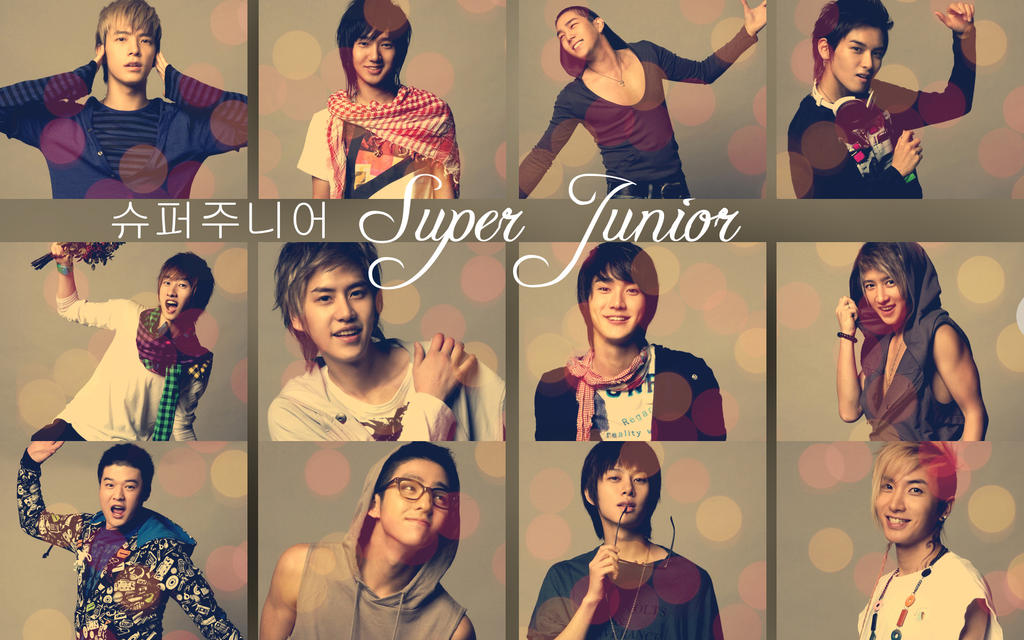 Super Junior Wallpaper by Irridian on DeviantArt