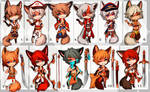 Kemonomimi (SET PRICE) - CLOSED