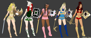 Golden Girl and the Guardians of the Gemstones by IrishSkye