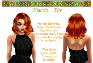 Niaeria hairstyle in Fire