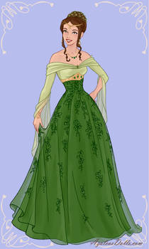 St. Patrick's Day Gown