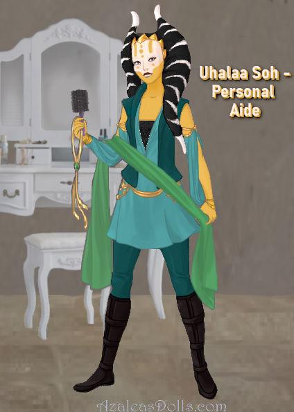 Uhalaa Soh, Deyja's personal aide