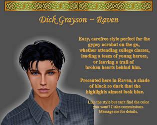 Dick Grayson, Raven