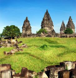 Prambanan Temple by lansakit
