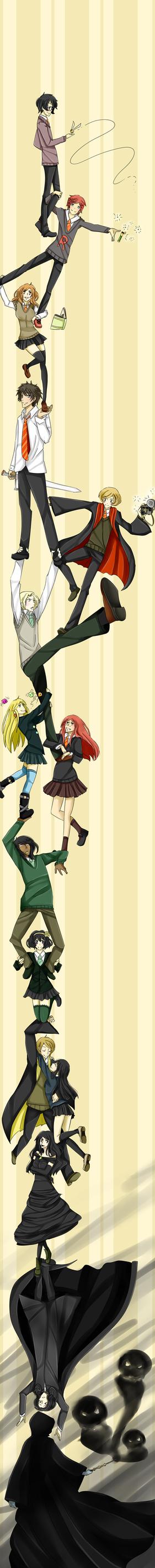 DRRR parody: Harry Potter by iondra