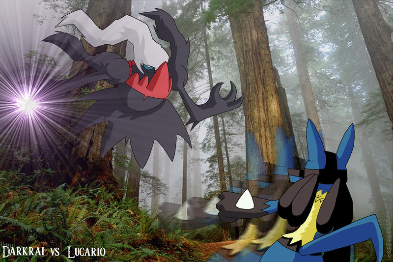 Darkrai vs Lucario by ...
