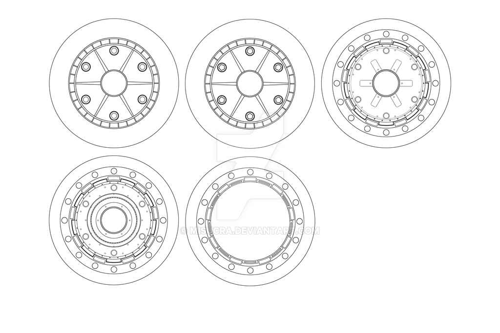 Kazakki Wheel Blueprint from Project Skyborn by Misucra