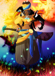 VC Crew / One Piece OC : Irma Lafayette by Sydhius