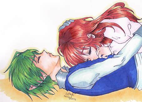 Sleeping Embrace by Sofiaki