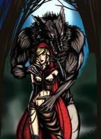 Red riding Hood by BerenikeLibertas