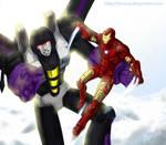 TF:Skywarp n Ironman color