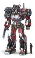 OC : Robot design by Beriuos