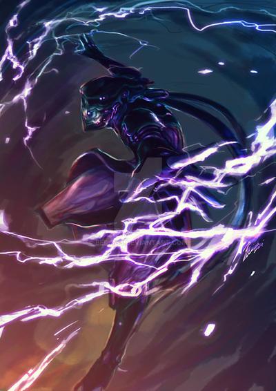 wf volt s thunder by beriuos on deviantart Warframe Banshee wf volt s thunder by beriuos