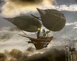 Airship by JambioO