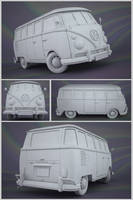 VW Samba Clay by JambioO