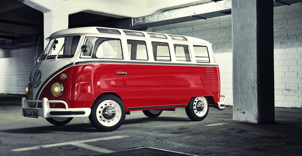 Vw t1 samba garage by jambioo on deviantart for Volkswagen meaux garage