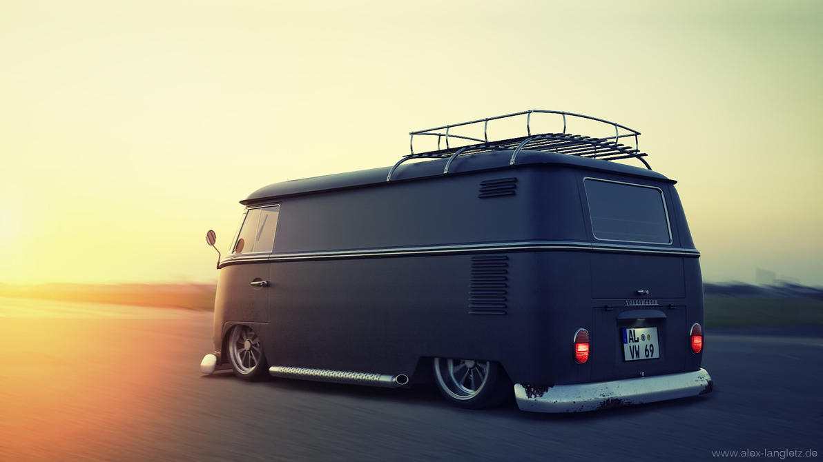 Custom VW Bus by JambioO