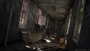 Abandoned Asylum - Daytime