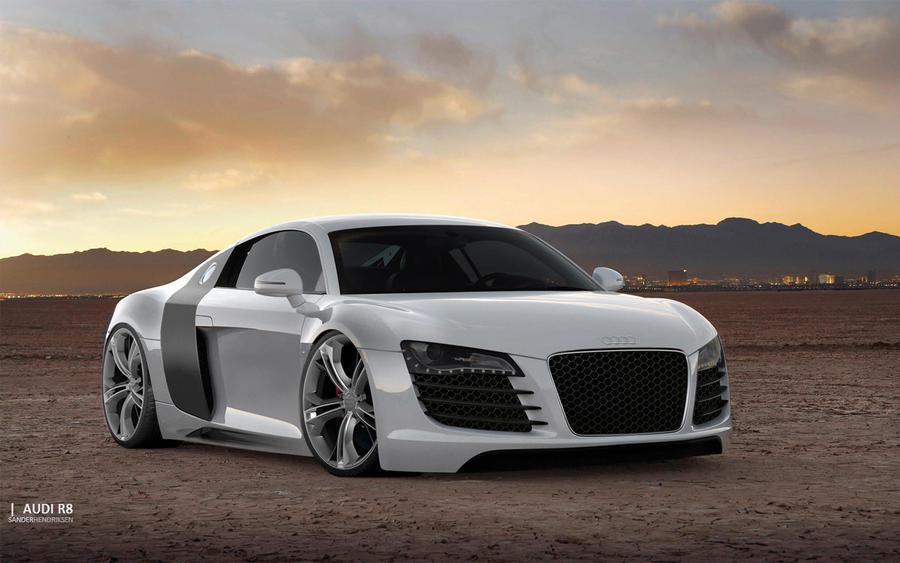 Audi R8 II by 46sanduhr