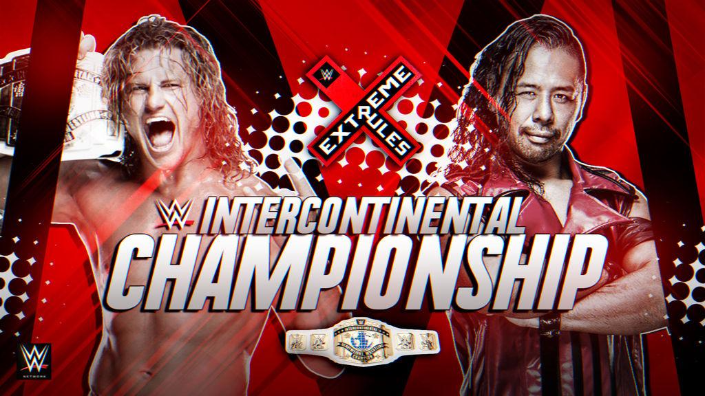 WWE Extreme Rules 2018 Custom Match Card HD   by BlackKW on DeviantArt
