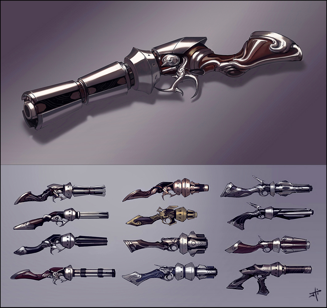 Pistol Concepts by liyart