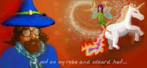 Facebook Graffiti 3 - The hot wizard by photodeus